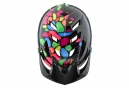 Troy Lee Designs A1 Jelly Beans Mips Youth MTB Casco Negro Gris Brillante