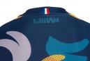 Maillot Manches Courtes LeBram ''Manger c'est tricher'' Coupe Ajustée