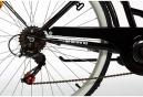 Vélo de Ville Femme Moma Bikes Paseo Town 26'' Shimano 6V Noir
