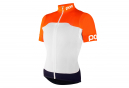 Maillot Manches Courtes Femme POC Avip Light Orange Blanc