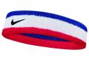 Bandeaux Éponge Nike Swoosh Bleu Blanc Rouge
