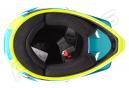 Kenny SCRUB Helm Blau Gelb