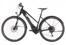 Cube Cross Hybrid Race 500 Allroad Trapeze Hybrid Touring Bike Shimano SLX / XT 11S Black White 2019