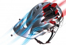 Casque VTT Troy Lee Designs A1 Drone Noir Rouge Mat