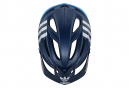 Troy Lee Designs A2 LTD Casco para MTB Adidas Team Mips Azul marino Azul claro Mate