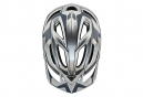 Troy Lee Designs A2 Dropout Mips MTB Helmet Silver Dark Grey Matte