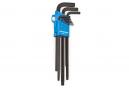 Kit de 9 clés allen (modèle long) Park Tool HXS-1.2