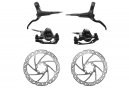 Disc Brake Pair Tektro M285 (disc 160mm) Black