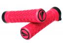 SDG Slater Junior Lock-On Grips Neon Pink