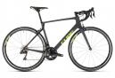 Vélo de Route Cube Agree C:62 SL Shimano Ultegra Di2 11V 2019 Gris / Jaune / Fluo