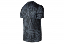 Maillot Manches Courtes New Balance Print Accelerate V2 Noir Homme