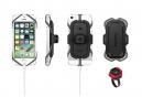 Support Guidon pour Smartphone Klickfix PhonePad Quad-Mini