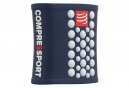 Bandeaux Poignet Compressport Sweatbands 3D.Dots (Paire) Bleu Blanc