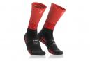 Paire de chaussettes de Compression Compressport Mid Noir Rouge Unisex