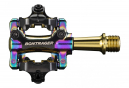 Bontrager Comp MTB Pedals Gold/Purple