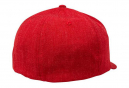 Casquette Fox Trace Flexfit Rouge