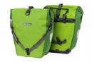 Paire de Sacoches de Porte Bagage Ortlieb Back-Roller Plus 40L Lime / Jaune