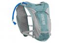 Sac Hydratation Femme Circuit Vest + Poche à eau 1.5L Bleu Gris