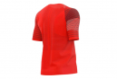 Compressport Maillot Manches Courtes Racing Rouge Homme