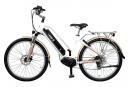 Vélo de Ville Électrique T-Bird Palm Beach Shimano Altus 8V Blanc