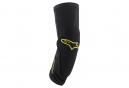 Alpinestars Paragon Plus Knee Protector Black Acid Yellow