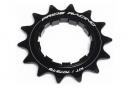Pride Racing Spiral Cog Black