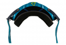 Masque Leatt Velocity 6.5 Roll Off Bleu - Ecran Gris