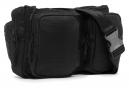 Chrome Messenger Bag Notch All Black