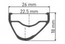 Roue Avant DT Swiss XR 1501 Spline One 29'' 22.5mm | Boost 15x110mm 2019