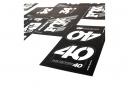 Fox Racing Shox Stickers Heritage 2019 White