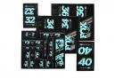 Kit Stickers Fox Racing Shox Heritage Vert Menthe