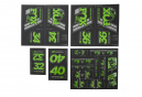 Fox Racing Shox Stickers Heritage 2019 Green