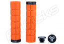 Paire de Grips SB3 Big One Orange/Noir