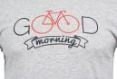 T-Shirt Marcel Pignon Homme Good Morning Gris