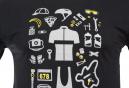 T-Shirt Marcel Pignon Homme Rider Kit Gris
