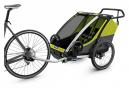 Remorque Thule Chariot Cab 2 Vert Gris