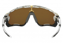 Oakley Sunglasses Jawbreaker Metallic Splatter Collection / Splatter White / 24k Iridium / OO9290-4531