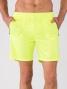 Short BodyCross Running Macéo Jaune Fluo