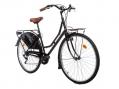 Vélo de Ville Moma Bikes Holanda 28'' SHIMANO 6V Noir