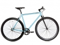 Moma Bikes Bicicleta Fixie Urbana, Fixie Azul Fixed Gear & Single Speed