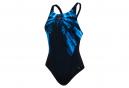 Maillot de Bain Femme Speedo End FreezerFrost Placement Recordbreaker Noir Bleu
