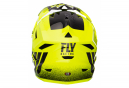 Casque Intégral Fly Racing Default Jaune / Noir