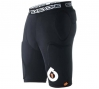 661 Sous short protection 3DO bomber Noir Taille M