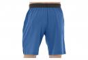 Asics Woven Short 2031A359-400, Homme, Bleu, Pantalon short