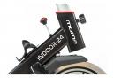 Moma Bikes Vélo d'appartement INDOOR-24 avec Volant d'inertie de 24kg, Ecran LCD, 4 capteurs cardiaques intégrés au guidon, selle ergonomique
