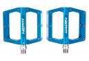 Paire de Pédales Plates Neatt Attack V2 8 Picots Bleu
