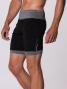 Short BodyCross Running 2 en 1 Onder Noir