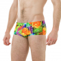 SPEEDO Funk Burst -  14cm Allover Brief - Orange/Purple - Boxer Natation Homme
