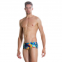 Speedo BLAST BOOM 14cm Allover Brief - Navy Siren Citron