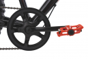 VTT Fatbike KS Cycling SNW2458 26'' Shimano Tourney 6V Noir Rouge